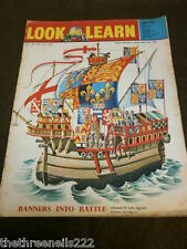 LOOK and LEARN # 132 - BANNERS INTO BATTLE - JULY 25 1964