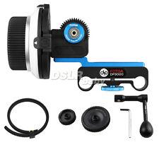 Fotga DP3000 follow focus + 3 gear+speed crank Kit for 15mm rod RIG DSLR Camera