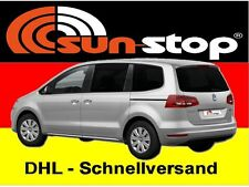 SunStop Autofolie Tönungsfolie tiefschwarz Van 76x600cm, TÜV-frei mit ABG, Rakel