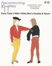 Schnittmuster RH 610: Early Tudor Men's Doublet & Hosen