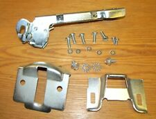 1955 56 57 CHEVY TRUNK LATCH ASSEMBLY with STRIKER PLATE , COVER  & HARDWARE