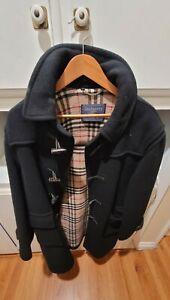 Burberry Duffle Specialty Wool Coat (Medium) (Male)
