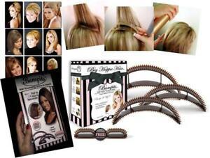 Buy 1 Get 1 Free 5 Pcs Bumpits Big Happie Hair Volumizing Inserts Brunette 10PC