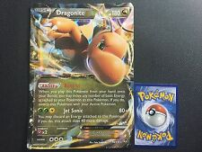 1X JUMBO OVERSIZED Dragonite EX 74/111 Holo FOIL Furious Fists NM Pokemon Promo