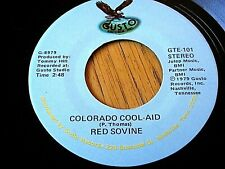 "RED SOVINE - COLORADO COOL-AID / THE DAYS OF ME AND YOU  7"" VINYL"