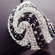 Diamond Simulated Sterling Silver Fine Rings