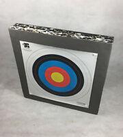 Archery Target Double Thickness Foam Target Boss Mat 60cm x 60cm, 12-14cm Thick