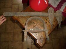 2 Anciens Outils de Tonnelier Compas ou Trusquin à tracer en Tonnellerie
