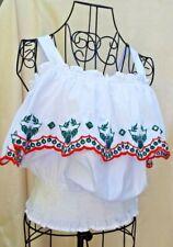 Redherring  Designer Pure White 100%  Cotton Camisole sz 40=UK 12
