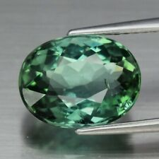 Stunning! 3.57ct 10.5x8mm VS Oval Natural Unheated Green Tourmaline, Mozambique