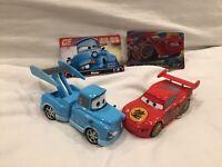 Disney STORE Pixar Cars TOKYO DRIFT MATER & DRAGON LIGHTNING MCQEEN 1:43 Diecast