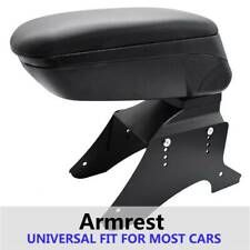 Black Universal Sliding Armrest Center Console New Car Styling Content
