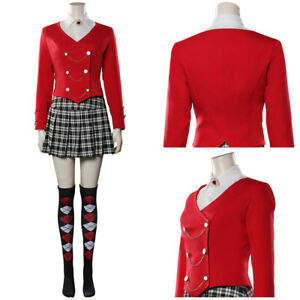 The Musical Heather Chandler Cosplay Uniform Skirt Outfits Halloween Carnival