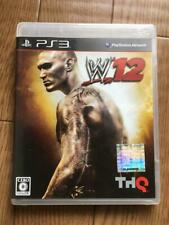 PS3 WWE'12 10971 Japanese ver from Japan