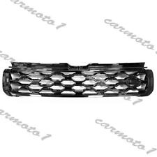 Black ABS Front Middle Grille Vent For Land Rover Range Rover Evoque 2012-2019