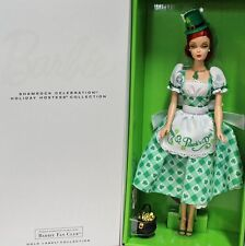 Shamrock Celebration Holiday hostess Collection Irlanda barbie 2015 cgk93 NRFB