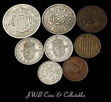1955 Elizabeth II Moneda Año Juego Gran Bretaña