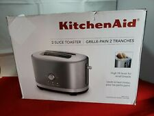 KitchenAid KMT2116CU 2 Slice Slot Toaster with High Lift Lever, Contour Silver