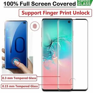 For Samsung Galaxy S20 S21 Plus Ultra FE Full Tempered Glass Screen Protector