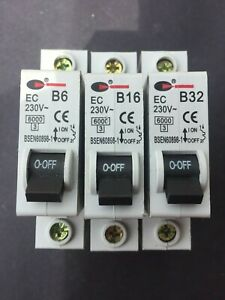 Lewden B6 B16 B20 B32 B40 230V MCB
