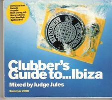 (EU720) Clubber's Guide To Ibiza 2000, Mixed by Judge Jules - CD