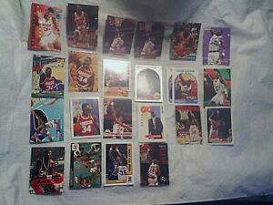 23 1990-1999 HAKEEM OLAJUWON BASKETBALL CARD LOT,Upper Deck,NBA Hoops,Skybox,tsc