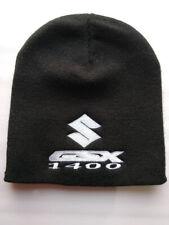 Suzuki GSX 1400 Beanie Hat - Black - Fully Embroidered - GSX1400