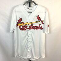Yadier Molina Jersey XL Stitched Sewn St. Louis Cardinals Majestic Cool Base