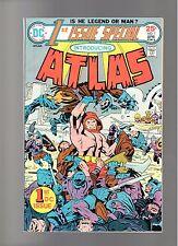 ATLAS # 1    ( 1975 )    DC COMICS  SHARP COPY!