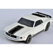 NEW AFX White Ford Mustang Mach 1 Mega-G+ HO Slot Car- AFX 22000 - IN STOCK