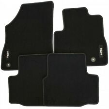GENUINE VAUXHALL ASTRA K MK7 VELOUR BLACK TAILORED FRONT REAR FLOOR CAR MATS 15+