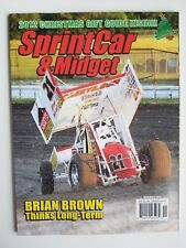 Sprint Car & Midget Magazine - November 2012 -  Brian Brown Cover