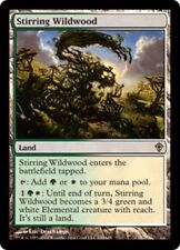 Worldwake Stirring Wildwood - Foil x1 Light Play, English Magic Mtg M:tG