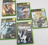 Original Xbox Video Games Lot
