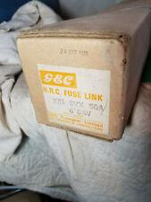 GEC K81 SVX 6.6KV 50A AMP FUSE, K81 SVX