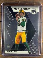 Panini Mosaic Football Rookie Card Jordan Love RC #264 Packers NFL Debut MINT