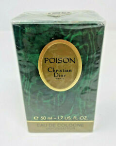 Vintage 1992 Christian Dior Poison Eau de Cologne 1.7oz Spray New