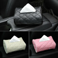Wet Wipes Dispenser Holder Tissue Storage Box Case with Home Office Leather