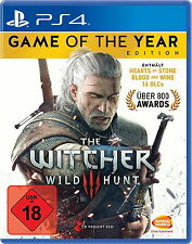 The Witcher 3 - Wilde Jagd (Game Of The Year Edition) (Sony PlayStation 4, 2016, DVD-Box)