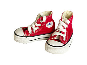 Converse All Star Hi-Top Sneaker Baby Size 2 EUC