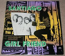 SANTIAGO - GIRL FRIEND. (UK, 1975, BUK RECORDS, BULP 2008)