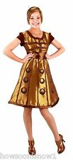 Wholesale Lot 11 Women's Doctor Who Gold Dalek Dress Party Costume L/XL NIP
