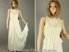 New JS COLLECTIONS Applique Beaded Chiffon Wedding Dress Formal Evening Gown 8