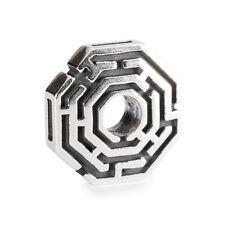 Trollbeads 'Labyrinth ' sterling silver bead Genuine RRP £35