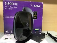 Belkin F9K1102v4 N600 Dual Band 300Mbps 4-Port 10/100 Wireless N+ Router (O5)