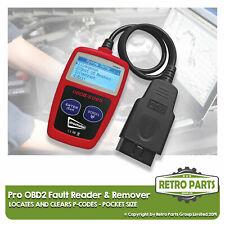 Pro OBD2 Code Lesegerät für Fiat. Scanner Diagnose Motor Hell Durchsichtig