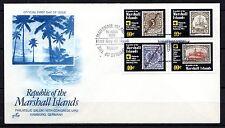 Marshall Islands - 1984 UPU congress - Mi. 15-18 FDC