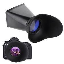 """2.8x 3.0"""" LCD Viewfinder Widescreen Eyecups for Canon EOS 600D 650D 60D 700D 70D"""