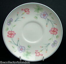 For Boots Carnation Pattern Tea Cup Saucers Only 14cm Look in VGC