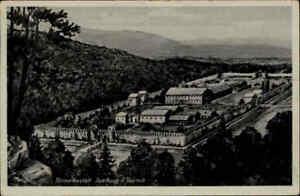 Saalburg Taunus Römer Kastell Burg Anlage alte Postkarte frankiert gelaufen 1942